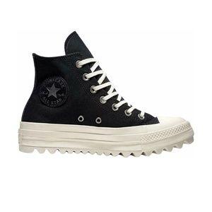 Size 9 Black Converse High Top Chuck Platform Boot